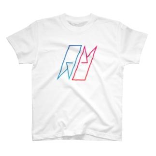 AUCH ロゴTシャツ ノーマル T-shirts