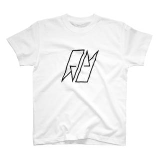 AUCH ロゴTシャツ 白 T-shirts
