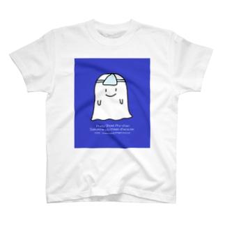 おばけのサイちゃんブルー T-shirts