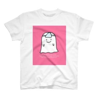 おばけのサイちゃんピンク T-shirts