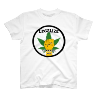 CJC Tシャツ/Legalize now(バックプリント有) T-shirts