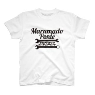 丸窓エンヂニアリング-工具 T-shirts