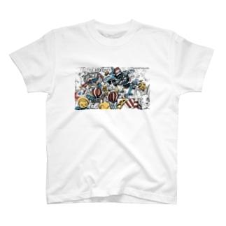 まよなか商店街グッズ T-shirts