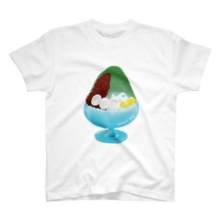かき氷 宇治金時 179 T-shirts