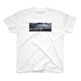 下町夜景 T-shirts