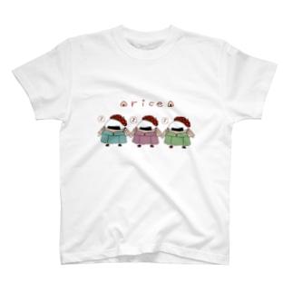 ガーリーおにぎり T-shirts