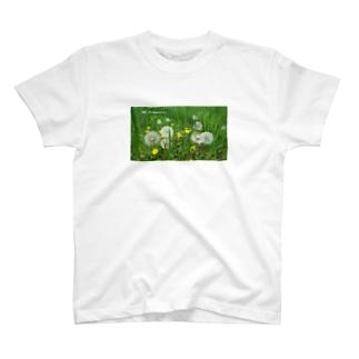 畑の唄タンポポ T-shirts
