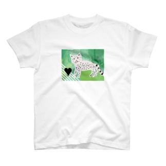 ユキヒョウちゃん T-shirts
