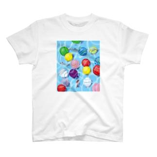 夏を浮かべる T-shirts