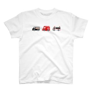 はたらくくるま3(カラー) T-shirts