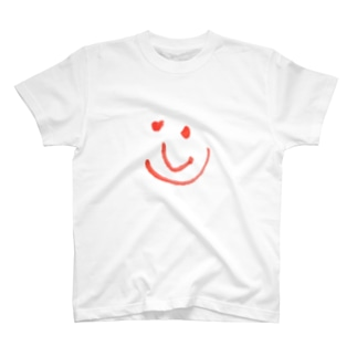 スペインの笑顔落書き T-shirts