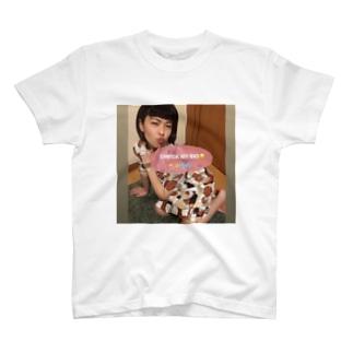 私の身体は男達への淫らな贈り物ティー T-shirts