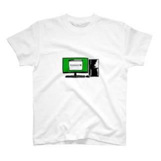 パソコンを入れるカバン T-shirts