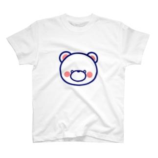 しろくまのふぁぼgoods T-shirts
