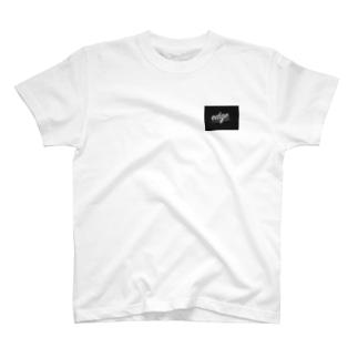 edge Tシャツ 黒 T-shirts