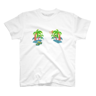 ゆるスカ パームツリー 180 T-shirts
