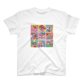 マイナス2020年の夏 T-shirts