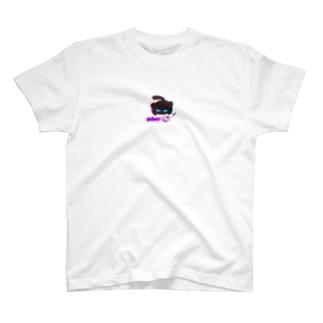 蝶々と黒猫のグルマンくん T-shirts