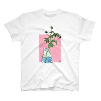 夏のゼラニウムTシャツ T-shirts