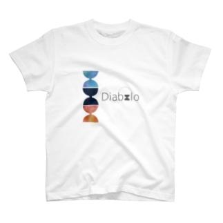 水彩混色「Diabolo」 T-shirts