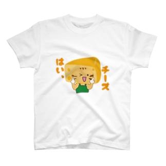 チーズにゃん T-shirts
