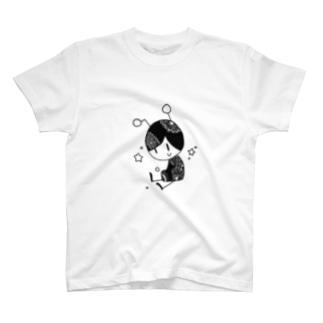 不時着宇宙人 T-shirts