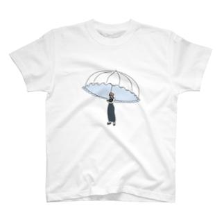 ソーシャルディスタンス日傘 T-shirts