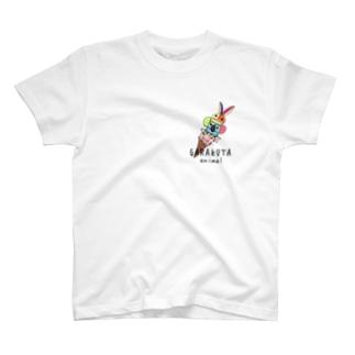 BOKURANOTEのガラクタアイス T-shirts
