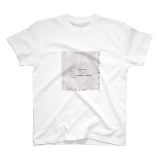 大理石*うさぎ T-shirts