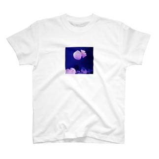 メロン味が食べたいのjellyfish T-shirts