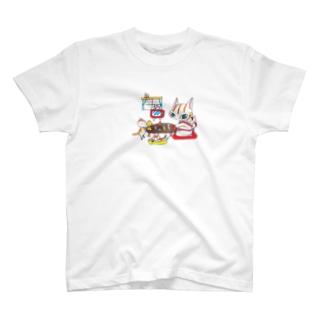 お茶の間 T-shirts