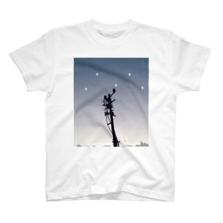 電柱 T-shirts