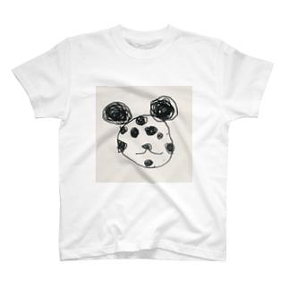 うちゅうみかんの飯塚くんのパンダ T-shirts