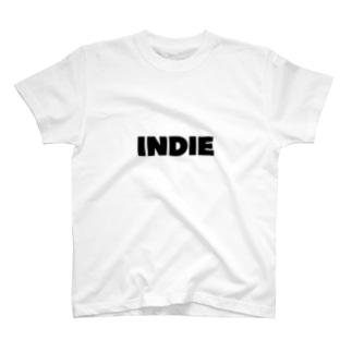 MUSIC TYPESのINDIE T-shirts