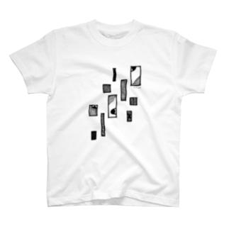 luck-mookの四ツ目と窓 その2 T-shirts