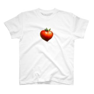 ハートのトマト ミニタイプ T-shirts