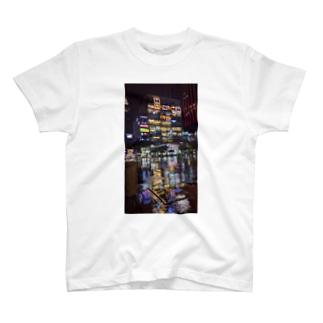 ビビッドな夜景 T-shirts