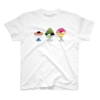 mi. (エムアイドット)の冷たいスイーツどうぞ T-shirts