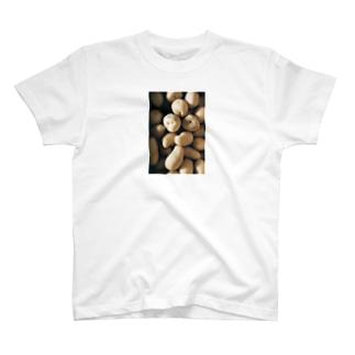harucamera ジャガイモ T-shirts