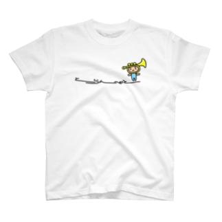 トランペットさんひかえめ T-shirts