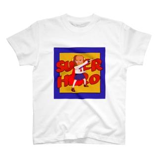 すみのすーぱーひーろー T-shirts