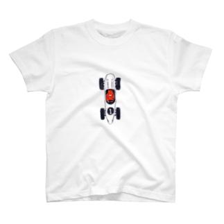 レーシングカー T-shirts