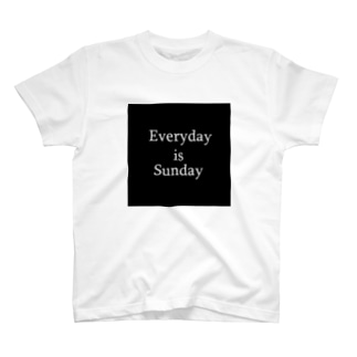 えぶりでぃいずさんでぇー T-shirts
