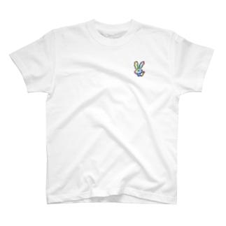 電波悪いうさぎ T-shirts
