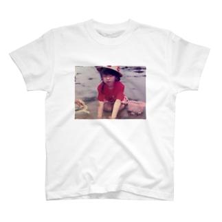 あさりを漁る T-shirts