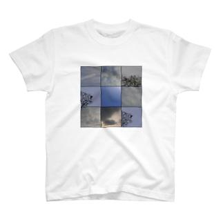 空と恐竜 バージョン0 T-shirts