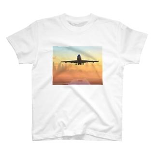 ボーイング747 T-shirts