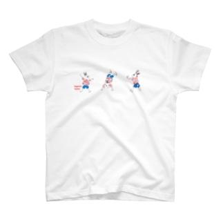 側転ふきちゃん T-shirts