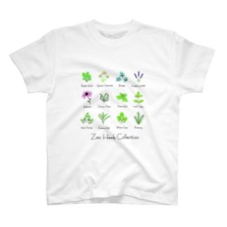 ざおうハーブコレクション T-shirts