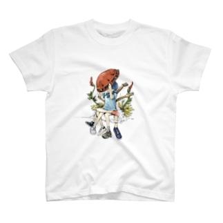 足修羅 T-shirts